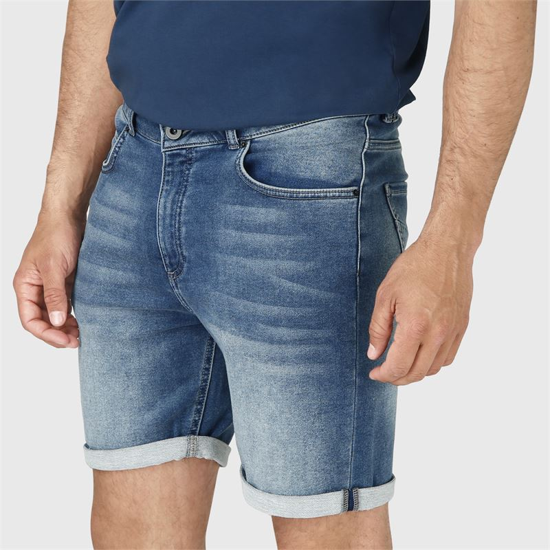 Brunotti Hangtime  (blauw) - heren casual shorts - Brunotti online shop