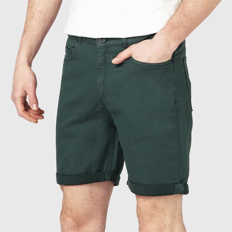 Brunotti Hangtime-CL  (groen) - heren casual shorts - Brunotti online shop