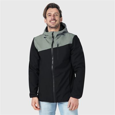 Brunotti Butcher Men Softshell-jacket. Beschikbaar in S,M,L,XL,XXL (2111180123-9999)