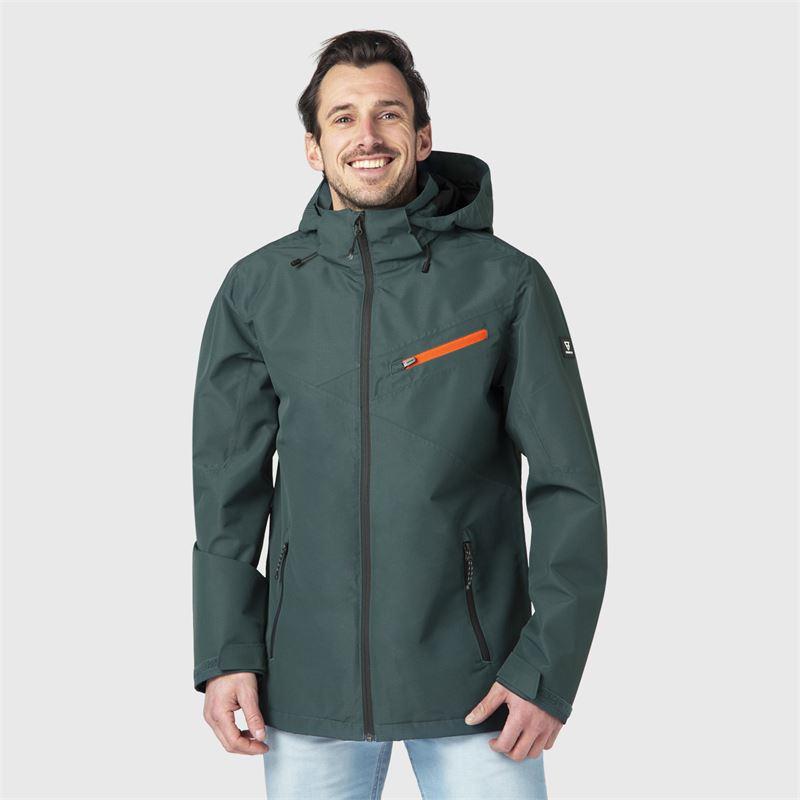 Brunotti Natal  (groen) - heren casual jassen - Brunotti online shop