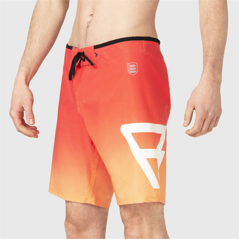 Brunotti Aitor  (orange) - herren boardshorts - Brunotti online shop