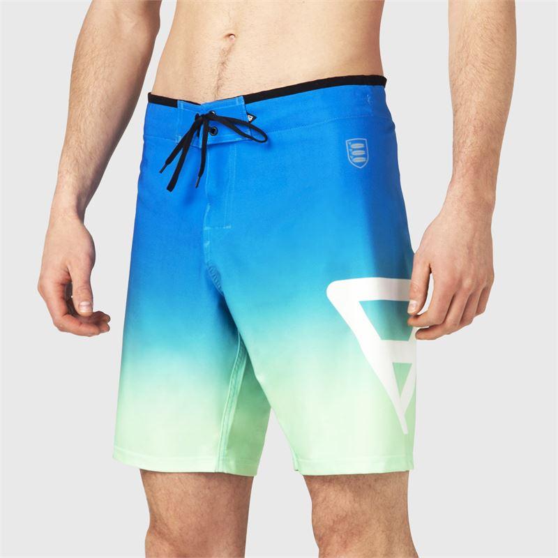 Brunotti Aitor  (blauw) - heren boardshorts - Brunotti online shop