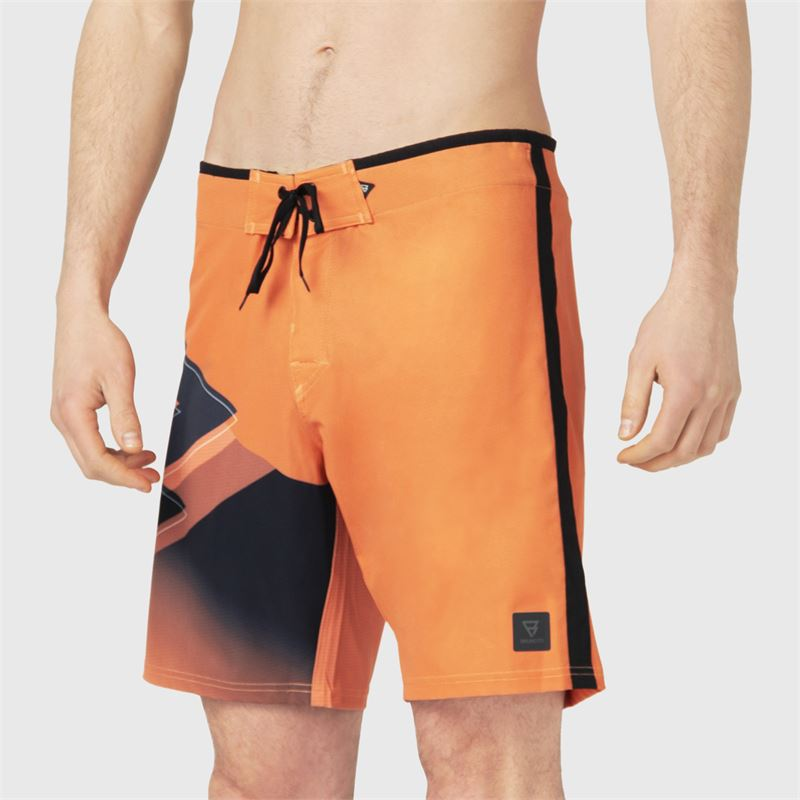 Brunotti Weston-PP  (orange) - herren boardshorts - Brunotti online shop