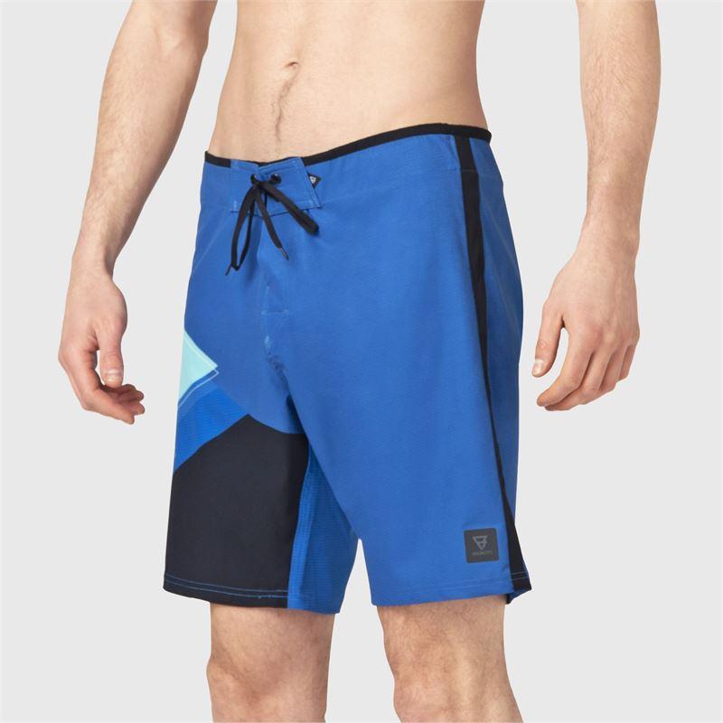 Brunotti Weston-PP  (blauw) - heren boardshorts - Brunotti online shop