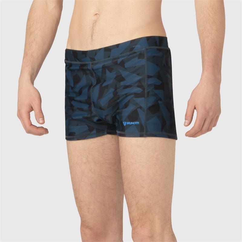 Brunotti Saabir-AO  (blauw) - heren zwemshorts - Brunotti online shop