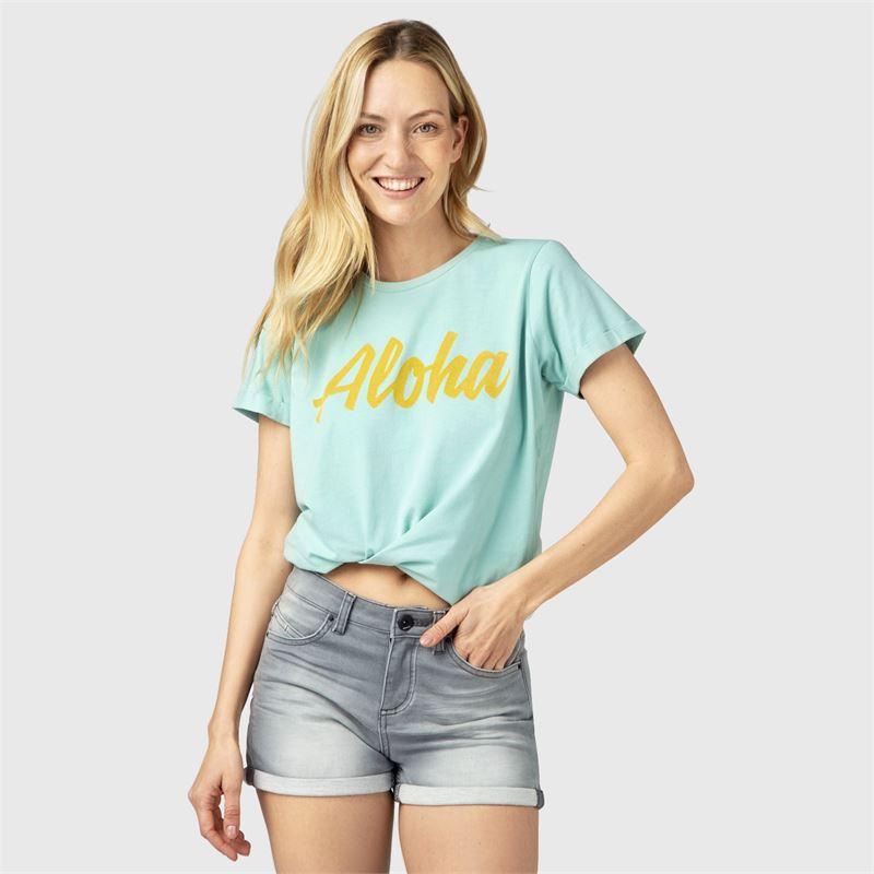 Brunotti Oulinas  (blauw) - dames t-shirts & topjes - Brunotti online shop