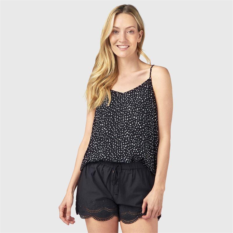 Brunotti Gomba  (zwart) - dames t-shirts & topjes - Brunotti online shop