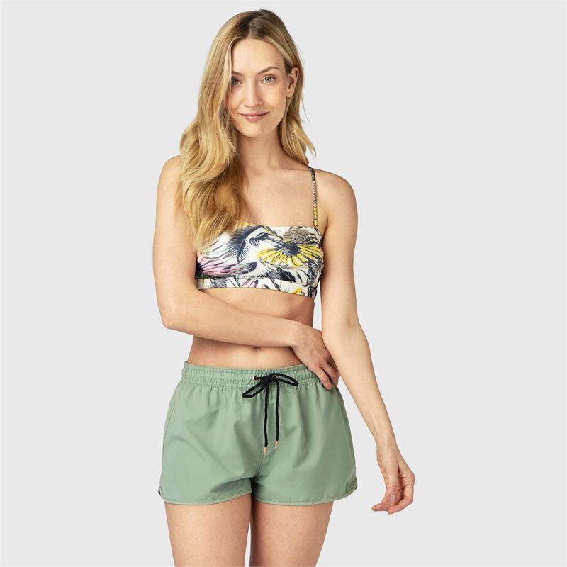 Brunotti Nelani  (groen) - dames beachshorts - Brunotti online shop