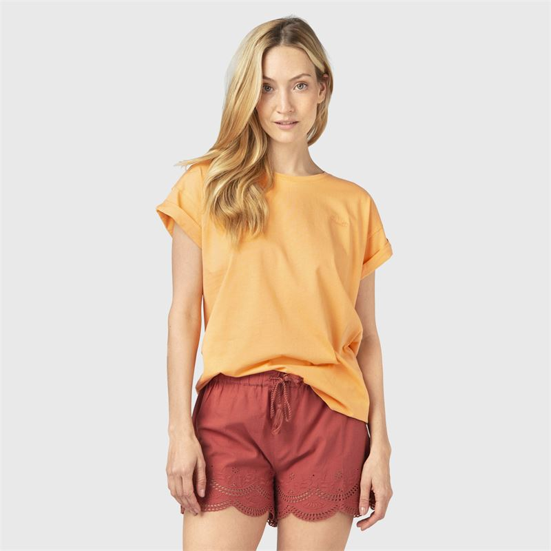 Brunotti Posey  (oranje) - dames casual shorts - Brunotti online shop