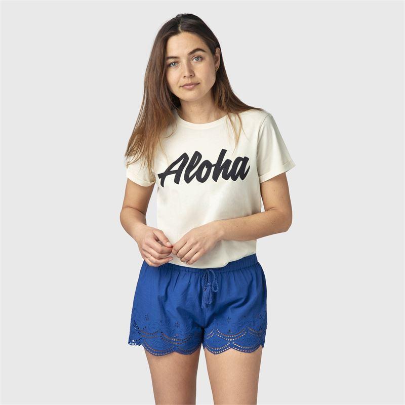 Brunotti Posey  (blauw) - dames casual shorts - Brunotti online shop
