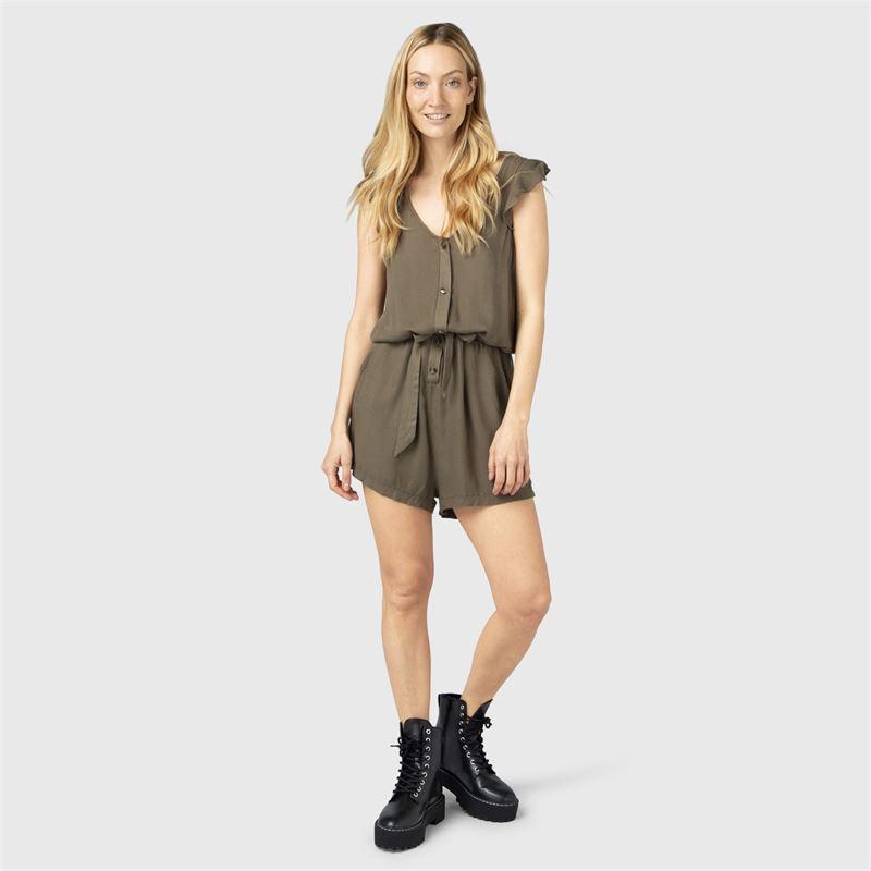 Brunotti Suhani  (groen) - dames tunieken & jumpsuits - Brunotti online shop