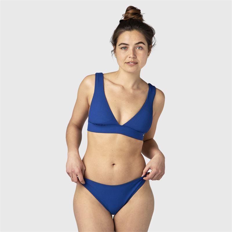 Brunotti Ankita-Rib  (blauw) - dames bikini's - Brunotti online shop