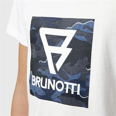 Brunotti Tim-Print-JR Boys T-Shirt. Available in 128,140,152,164,176 (2113100745-1001)