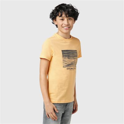 Brunotti Tim-Print-JR Boys T-Shirt. Available in 128,140,152,164,176 (2113100745-2497)