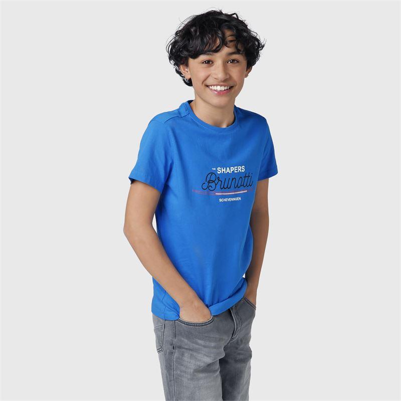 Brunotti Tim-Print-JR  (blue) - boys t-shirts & polos - Brunotti online shop