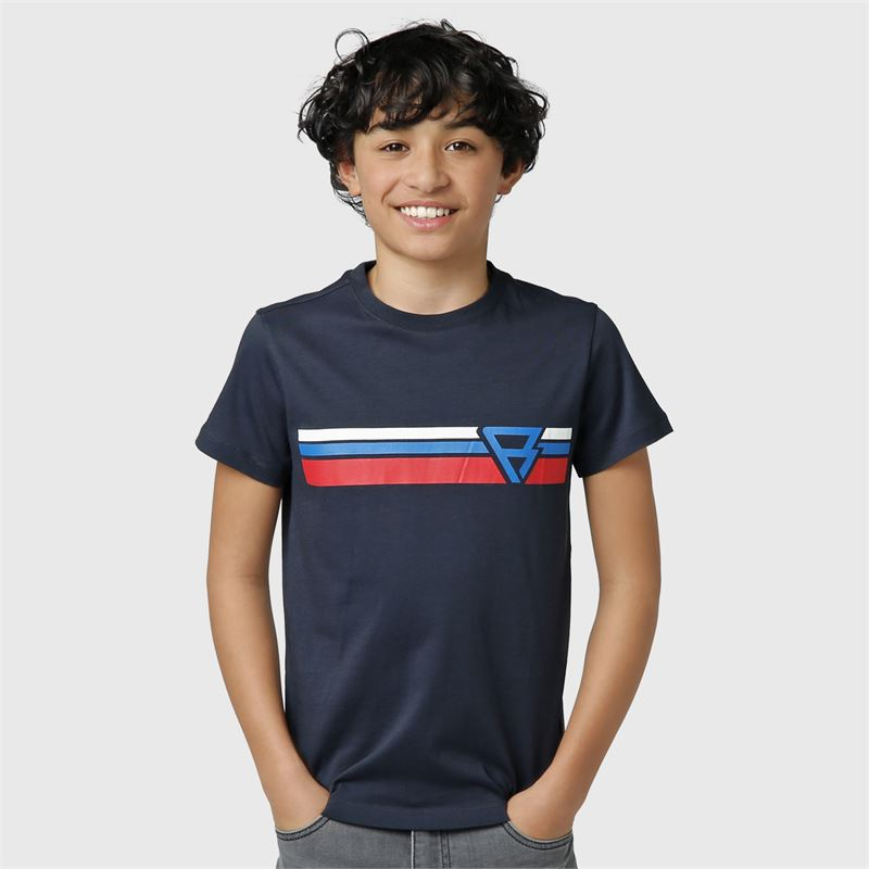 Brunotti Tim-Print-JR  (blue) - boys t-shirts & polos - Brunotti online shop