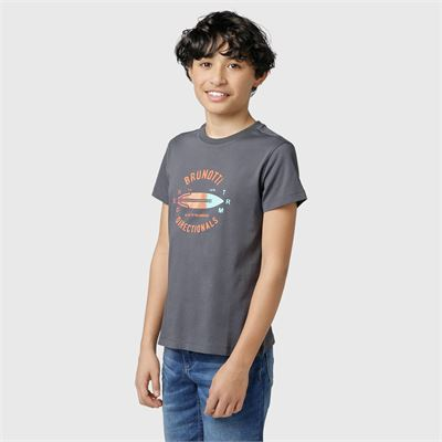 Brunotti Tim-Print-JR Boys T-Shirt. Verfügbar in 128,140,152,164,176 (2113100745-9997)