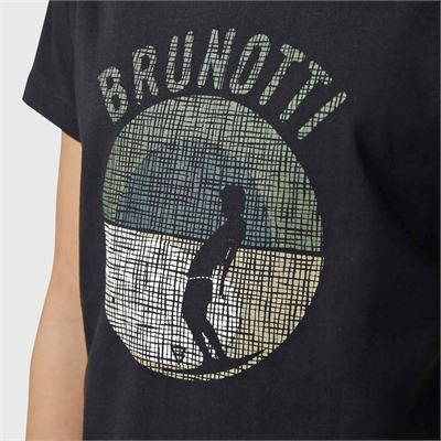 Brunotti Tim-Print-JR Boys T-Shirt. Verfügbar in 128,140,152,164,176 (2113100745-9999)