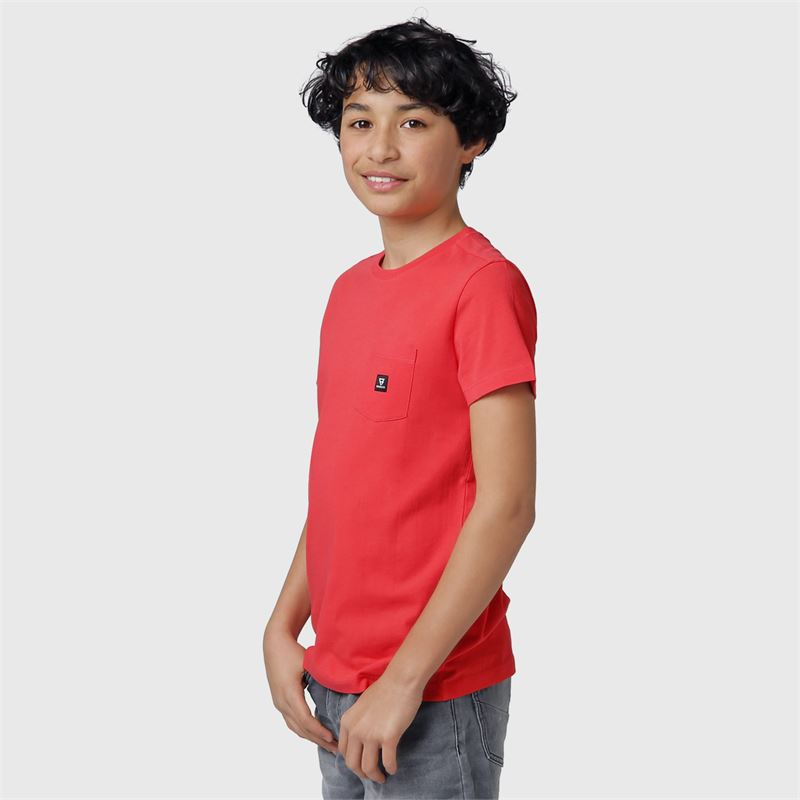 Brunotti Axle-JR  (oranje) - jongens t-shirts & polo's - Brunotti online shop