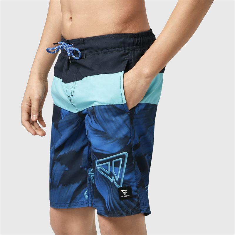 Brunotti Catamaran-Leaf-JR  (blau) - jungen schwimmshorts - Brunotti online shop
