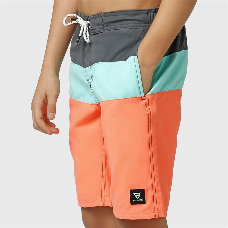 Brunotti Catamaran-JR  (pink) - boys swimshorts - Brunotti online shop