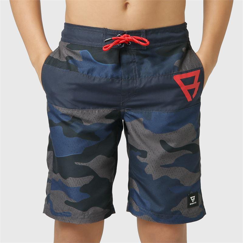 Brunotti Raymond-JR  (blauw) - jongens zwemshorts - Brunotti online shop