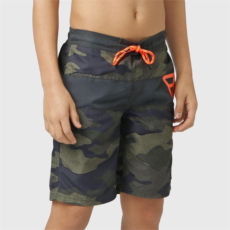 Brunotti Raymond-JR  (grijs) - jongens zwemshorts - Brunotti online shop