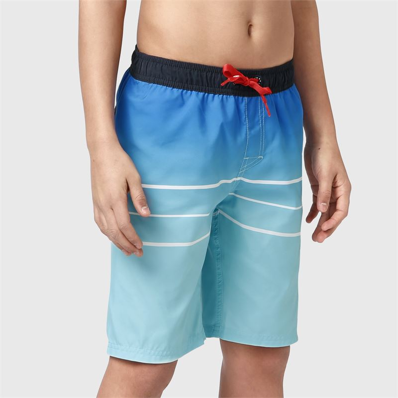 Brunotti Kelvin-PP-JR  (blue) - boys swimshorts - Brunotti online shop