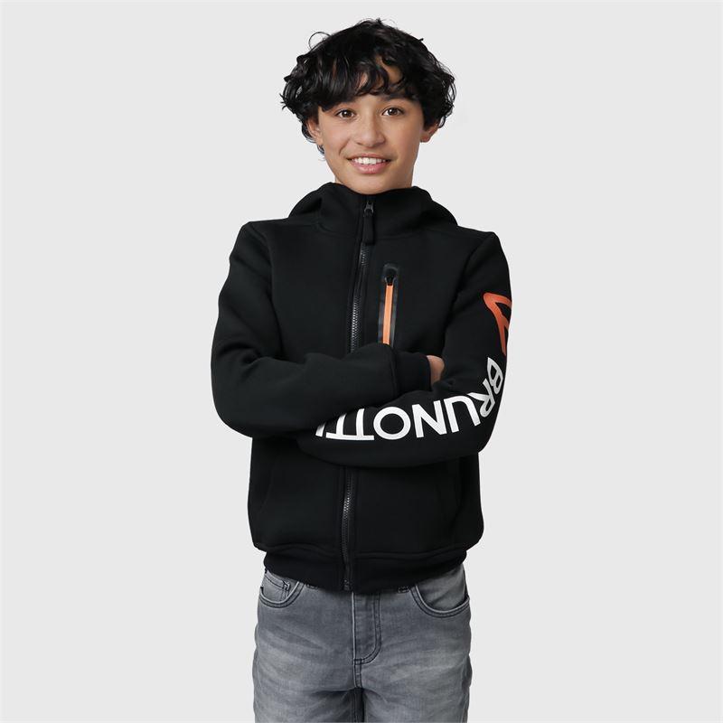 Brunotti Staggy-JR  (zwart) - jongens casual jassen - Brunotti online shop