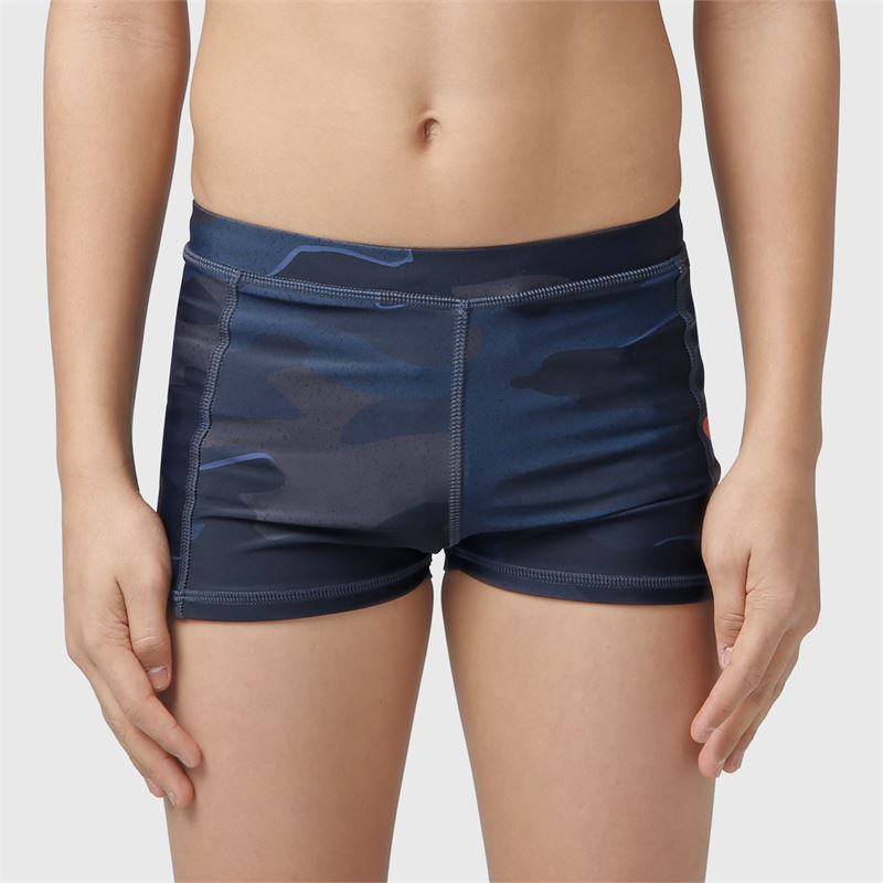Brunotti Berkley-AO-JR  (blauw) - jongens zwemshorts - Brunotti online shop