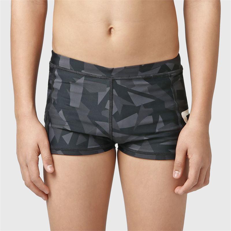 Brunotti Berkley-AO-JR  (zwart) - jongens zwemshorts - Brunotti online shop
