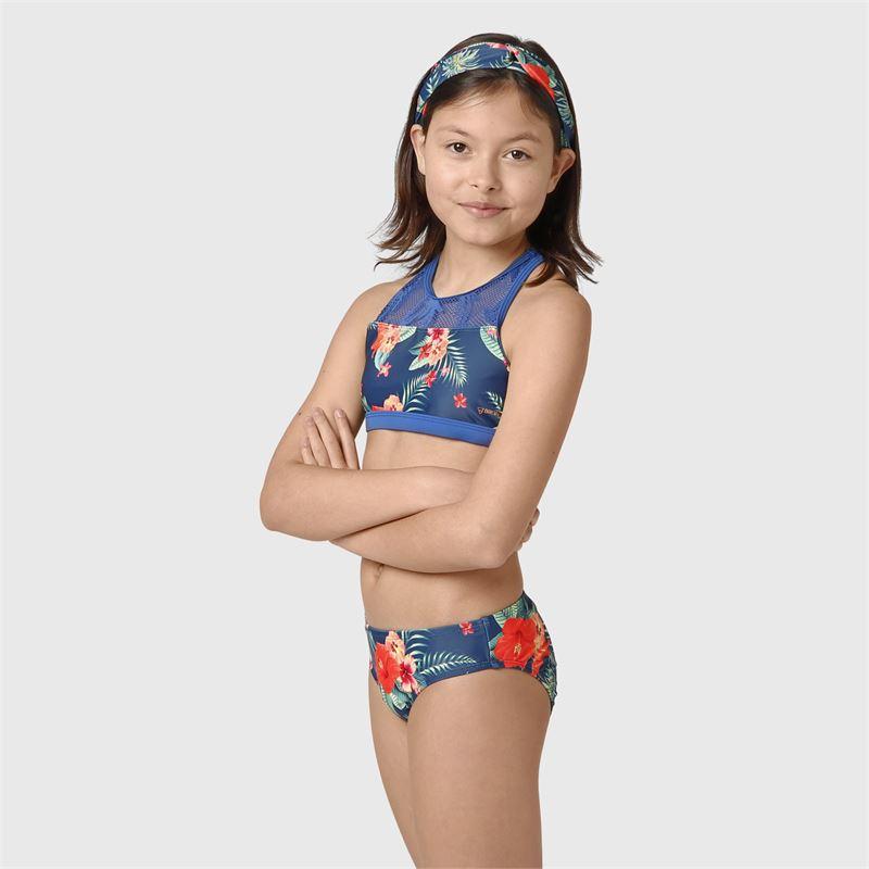 Brunotti Elena-AO-JR  (blauw) - meisjes bikini's - Brunotti online shop