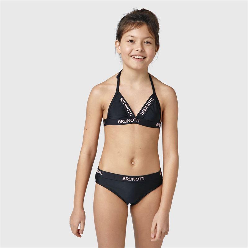 Brunotti Awan-JR  (zwart) - meisjes bikini's - Brunotti online shop