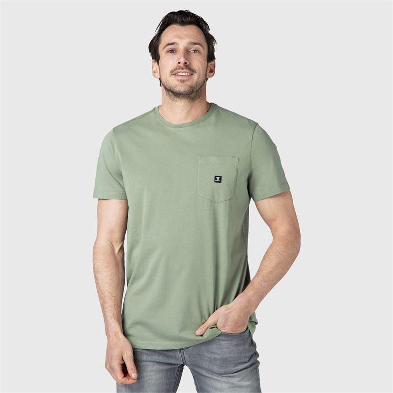 Brunotti Axle-N  (groen) - heren t-shirts & polo's - Brunotti online shop