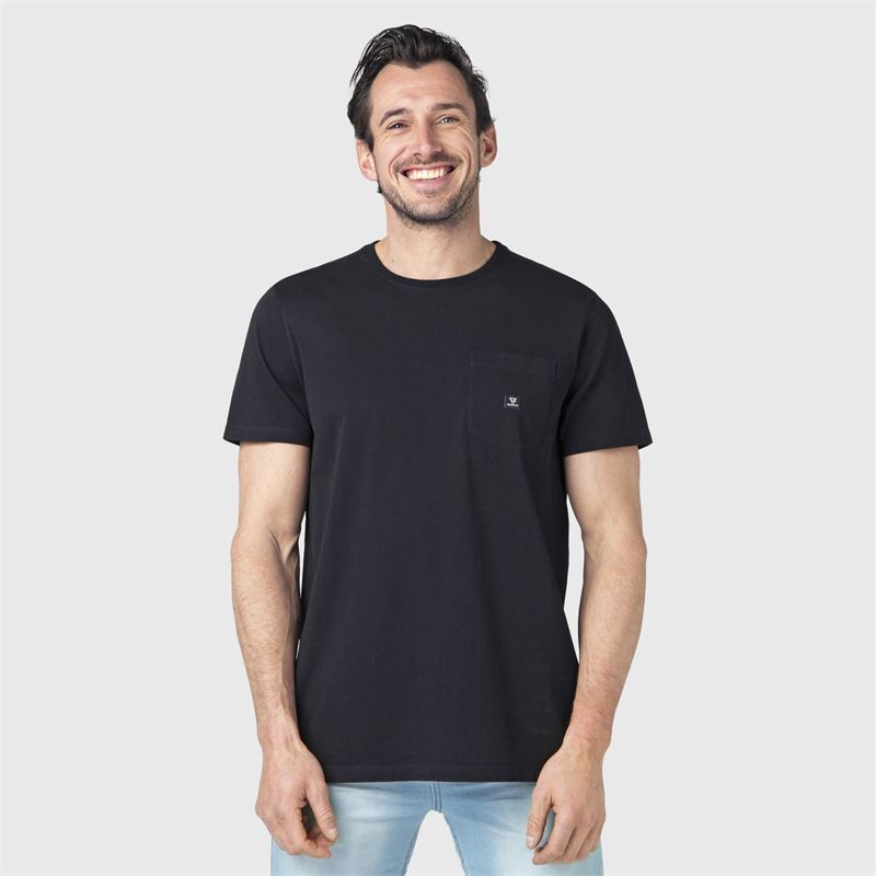 Brunotti Axle-N  (zwart) - heren t-shirts & polo's - Brunotti online shop