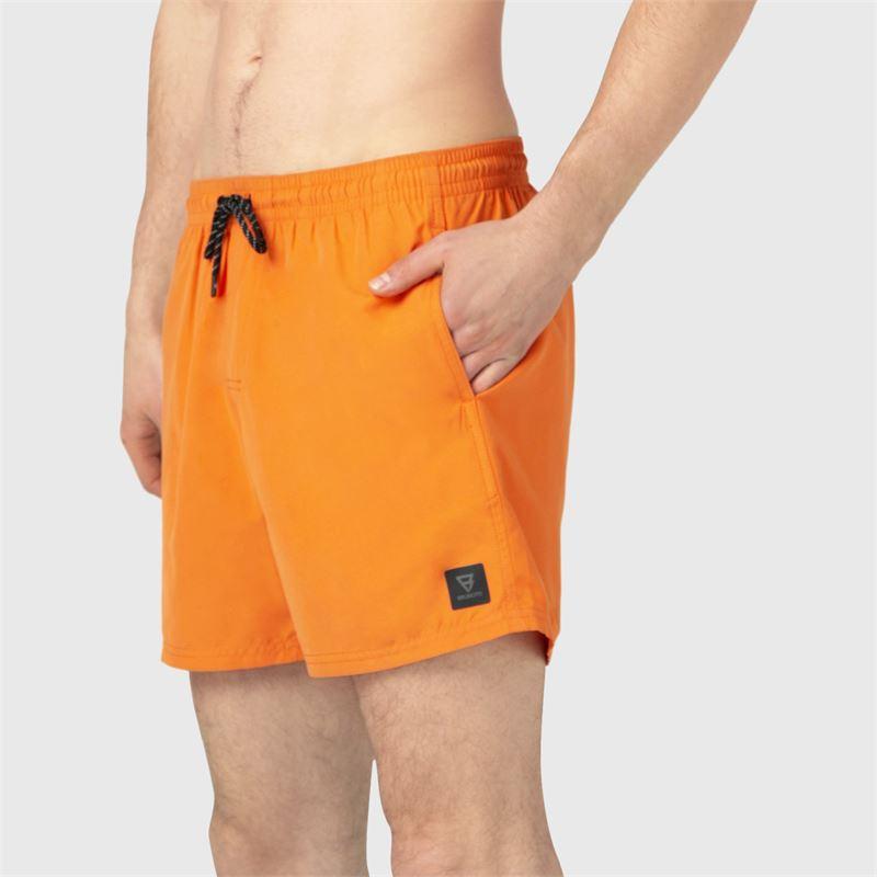 Brunotti CrunECO-N  (oranje) - heren zwemshorts - Brunotti online shop