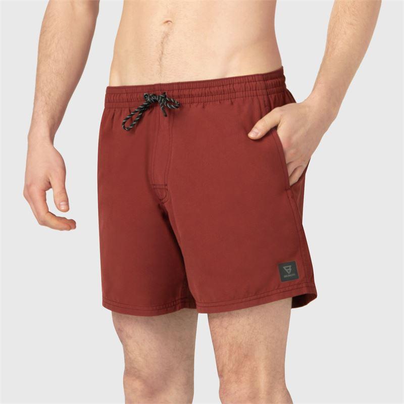Brunotti CrunECO-N  (rood) - heren zwemshorts - Brunotti online shop