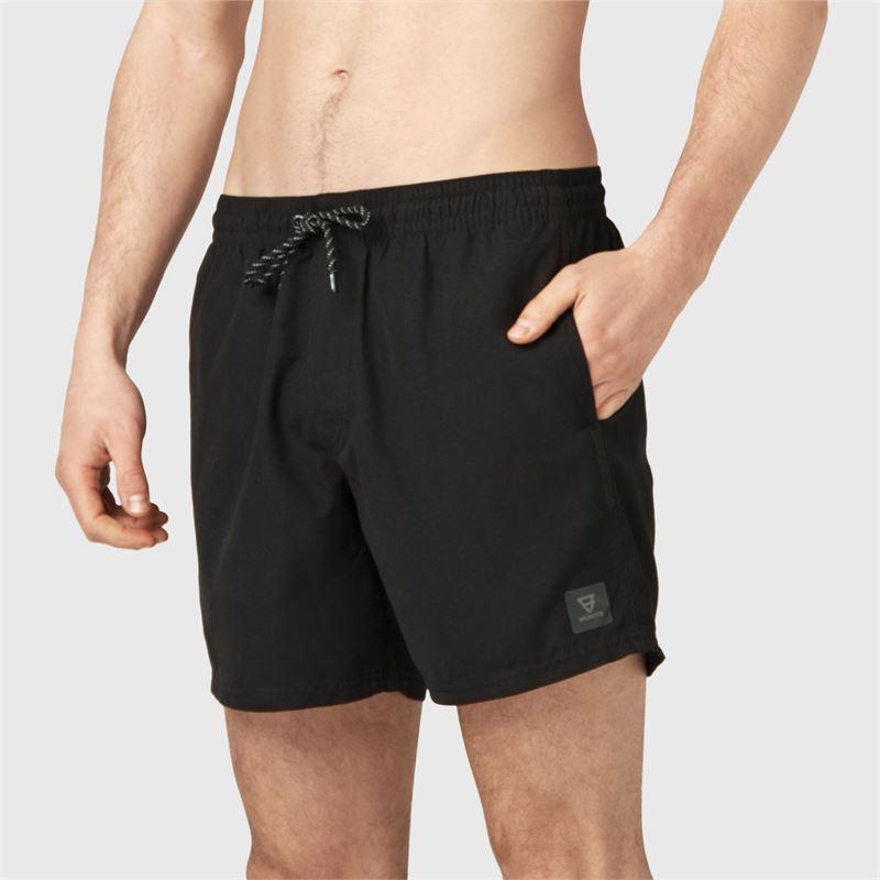 Brunotti CrunECO-N  (zwart) - heren zwemshorts - Brunotti online shop