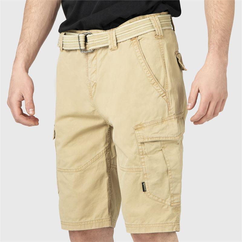 Brunotti CaldECO-N  (bruin) - heren casual shorts - Brunotti online shop