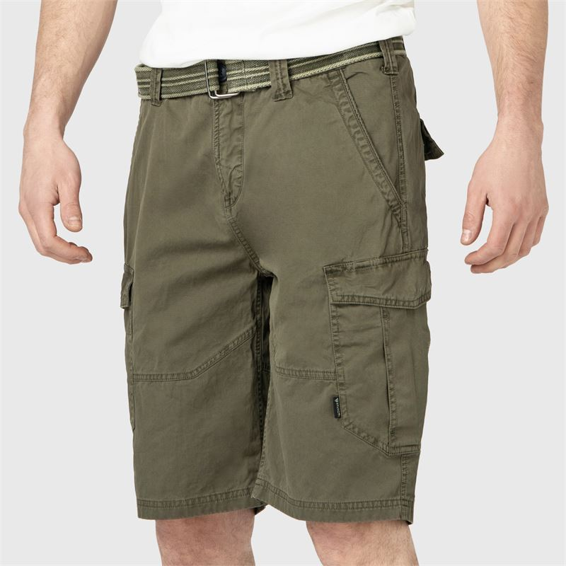 Brunotti CaldECO-N  (green) - men casual shorts - Brunotti online shop