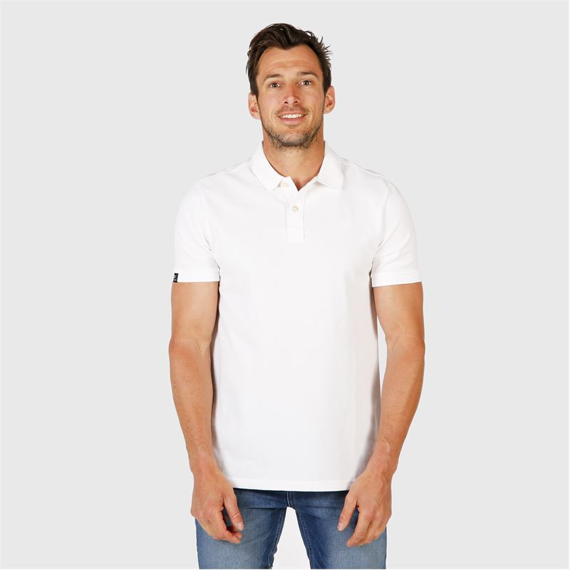 Brunotti Frunot II N Men Polo (White) - MEN T-SHIRTS & POLOS - Brunotti online shop