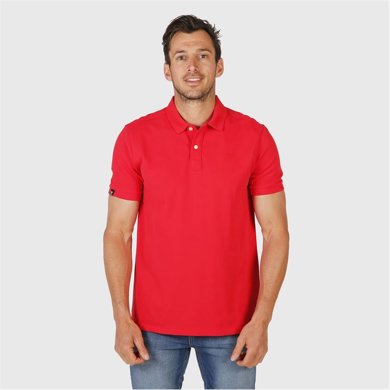 Brunotti Frunot  (rood) - heren t-shirts & polo's - Brunotti online shop