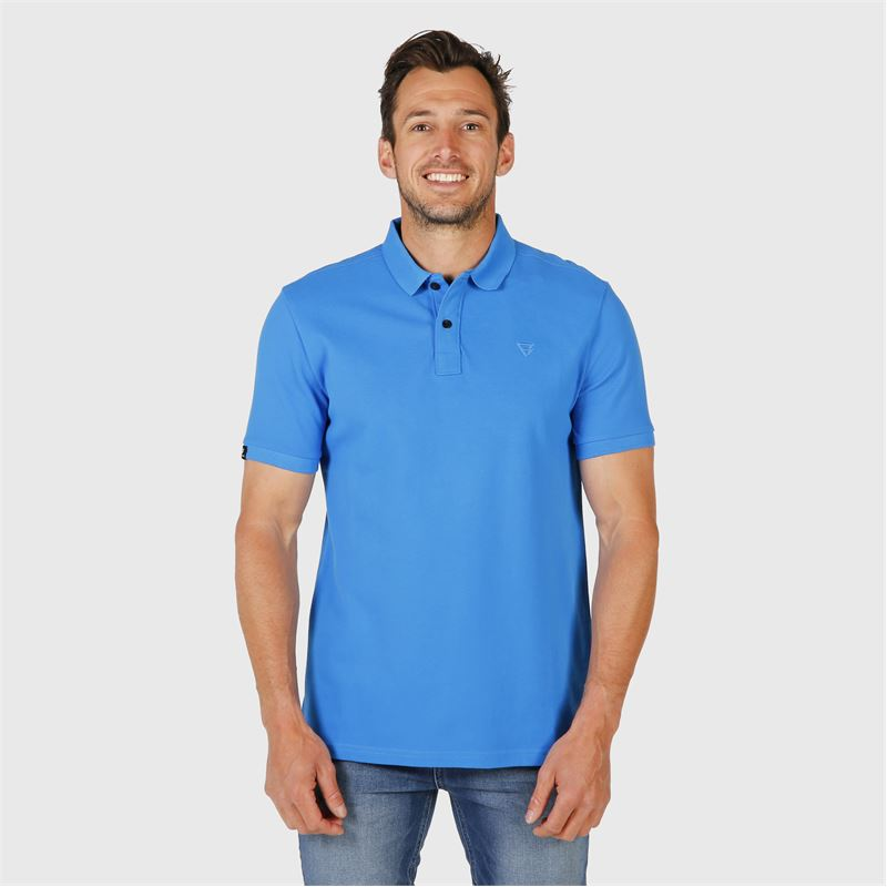 Brunotti Frunot  (blauw) - heren t-shirts & polo's - Brunotti online shop