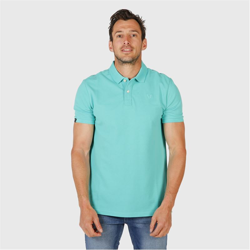 Brunotti Frunot II N Men Polo (Groen) - HEREN T-SHIRTS & POLO'S - Brunotti online shop
