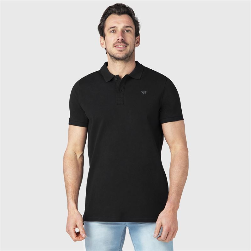 Brunotti Frunot  (zwart) - heren t-shirts & polo's - Brunotti online shop