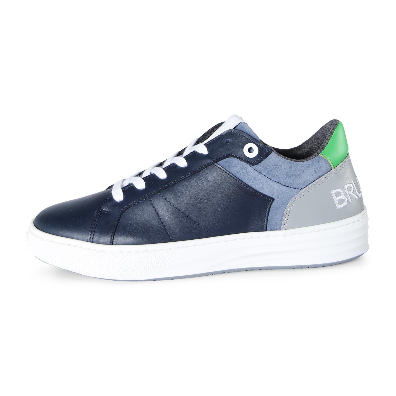 Brunotti Bundoran  (blauw) - heren schoenen - Brunotti online shop