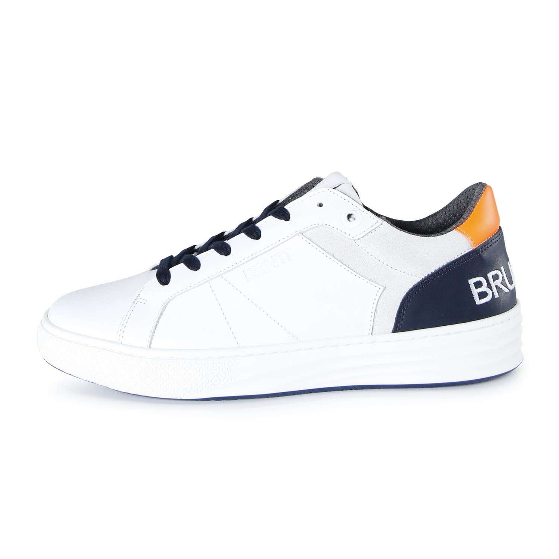 Brunotti Bundoran  (wit) - heren schoenen - Brunotti online shop