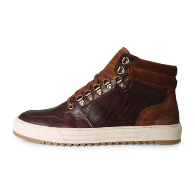 Brunotti SAGRES HI TOP MEN COGNAC. Available in 40,41,43,44,45,46 (F192175069-F0110)