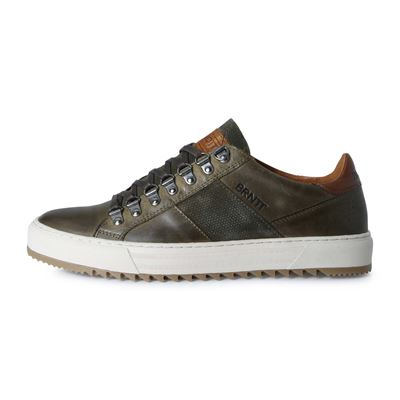 Brunotti CARCAVELOS LOW MEN OLIVE. Available in 41,42,43,44,45,46 (F192175073-F0138)