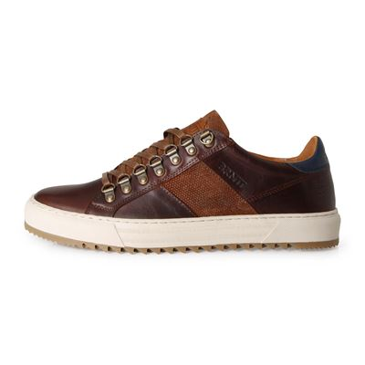 Brunotti CARCAVELOS LOW MEN COGNAC. Available in 40,41,42,43,44,45,46 (F192175074-F0110)